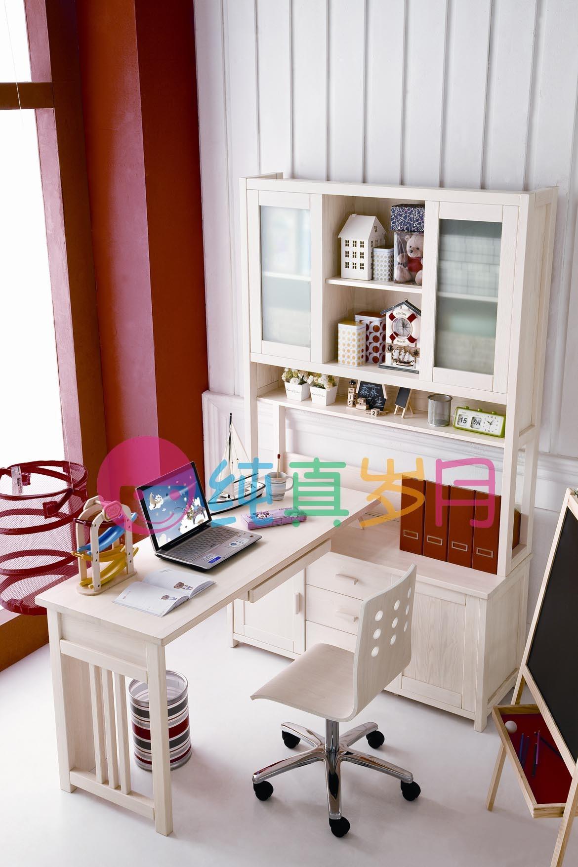 2013 het l vormige bureau van de computer van de tiener met het stevige hout van 100 701 - Het versieren van de tiener kamer ...