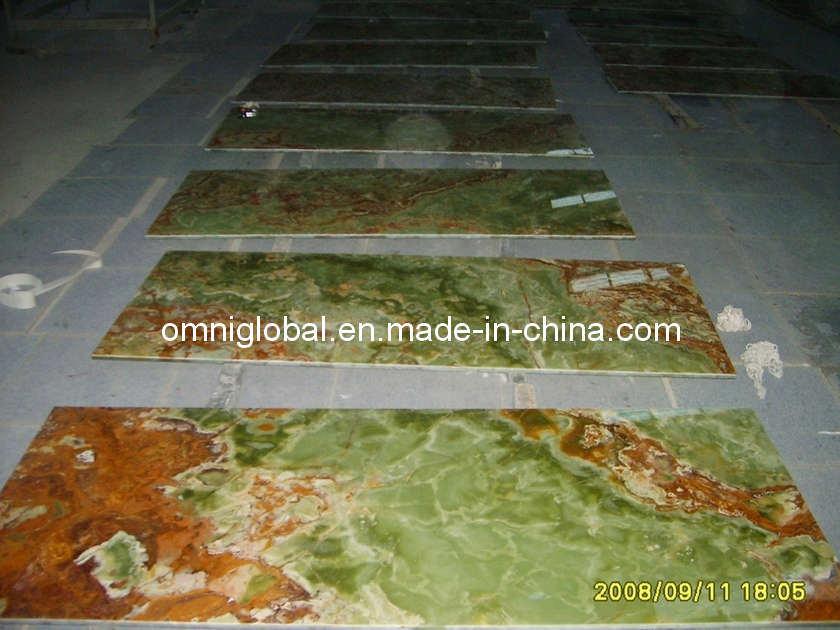 Azulejo verde oscuro del m rmol de onyx azulejo verde for Densidad del marmol