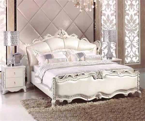 Klassiek bed vastgestelde 671 het meubilair van de slaapkamer klassiek bed vastgestelde 671 - Klassiek bed ...