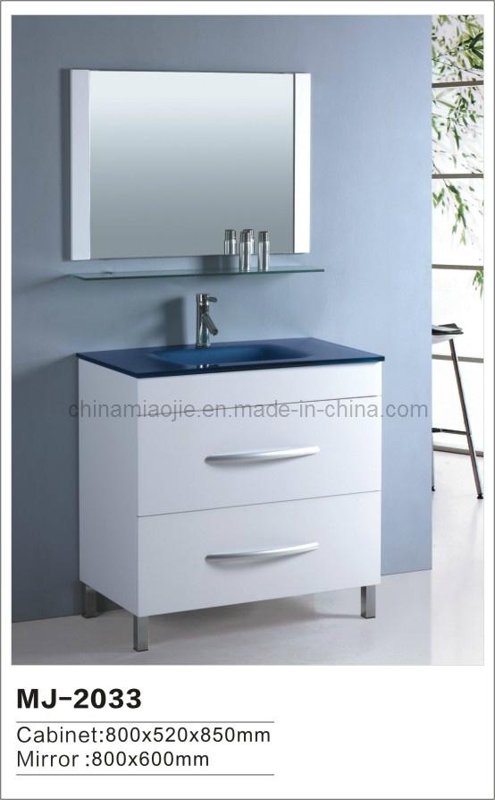 Muebles modernos del cuarto de baño del MDF (MJ2033) – Muebles