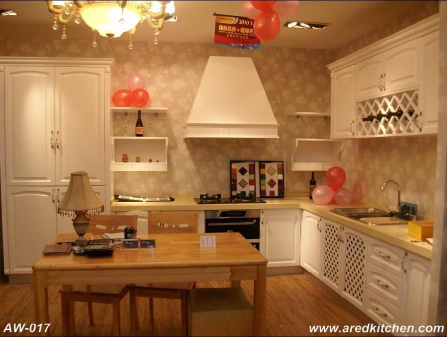 Armadio da cucina di Solidwood (AW-017) – Armadio da cucina di ...