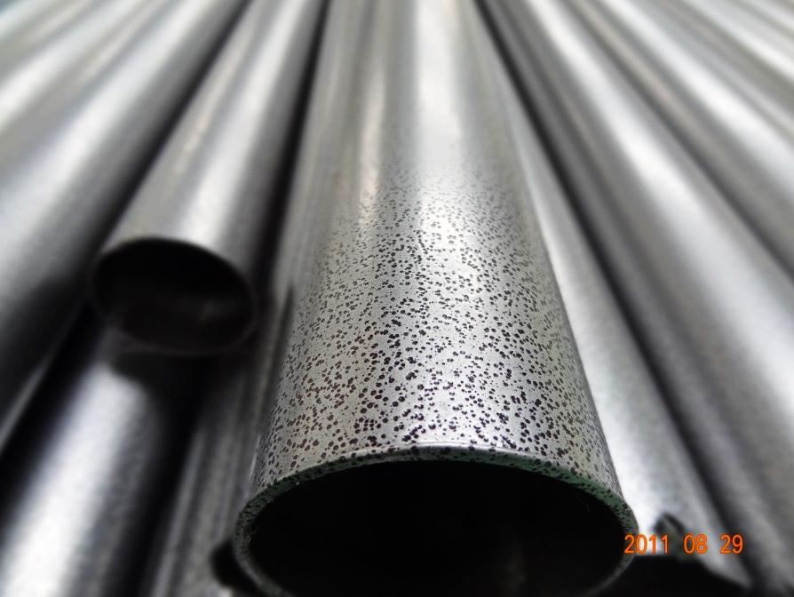 Powdered Coated Aluminium Texture : Покрытие порошка текстуры молотка для стальной трубы