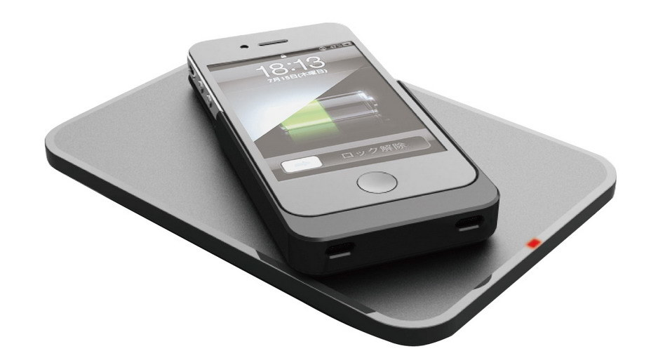 chargeur sans fil de qi seulement pour l 39 iphone 4 4s chargeur sans fil de qi seulement pour l. Black Bedroom Furniture Sets. Home Design Ideas