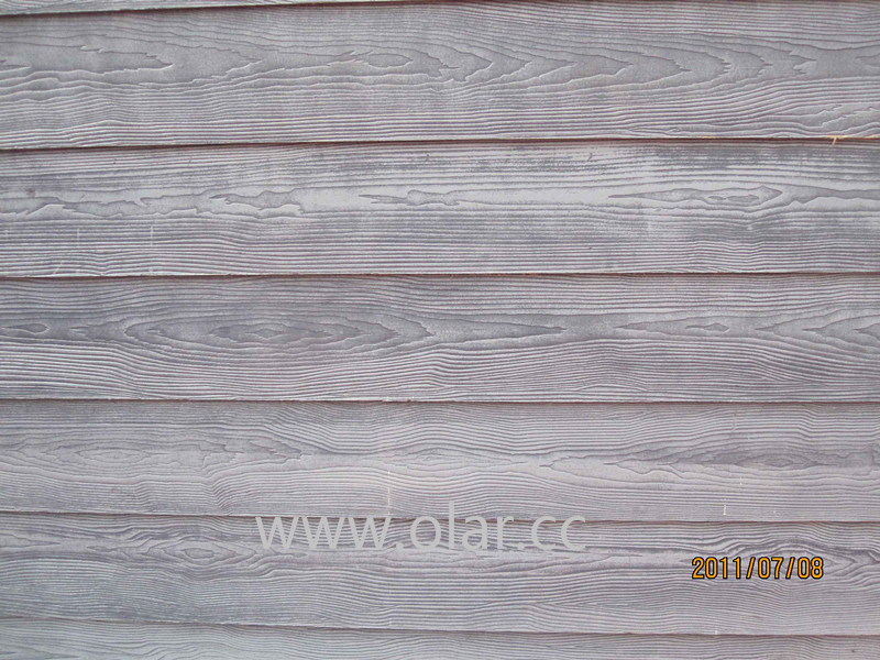 Revestimiento de madera de la pared del cemento de la - Panel madera cemento ...