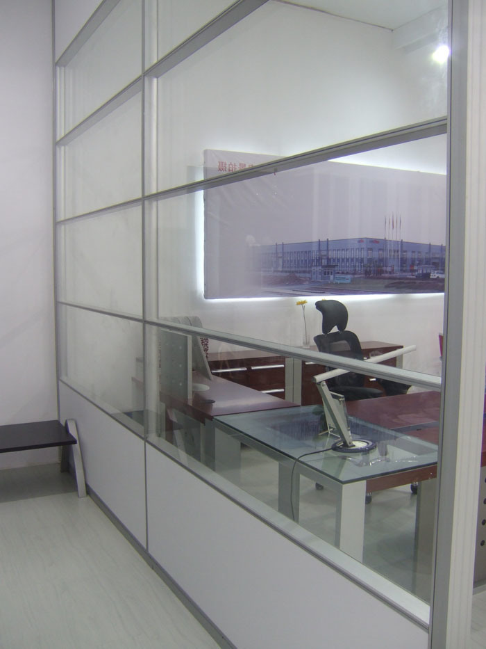 Haute cloison de s paration de bureau 8608 4 haute - Cloison de separation bureau ...