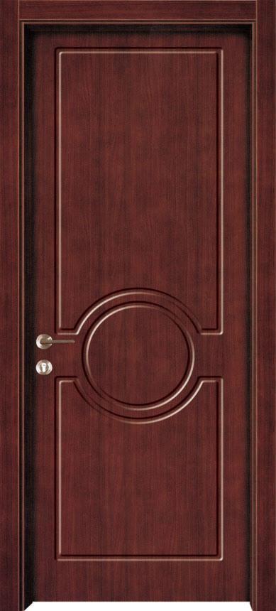 Puertas de madera moldeadas mdf pwv 0214 puertas de for Designs for main door of flat