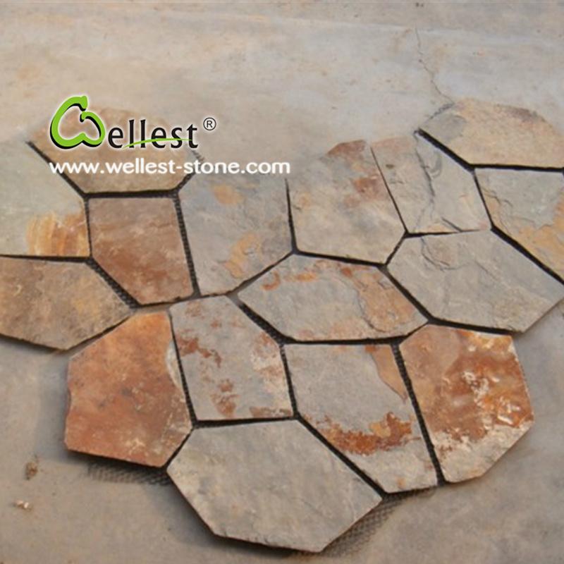 Foto de el exterior de piedra natural pavimento r stico - Pavimento rustico exterior ...