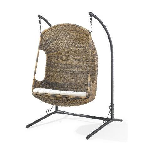 Oscilaci n colgante de la rota del jard n silla colgante - Sillas colgantes del techo ...