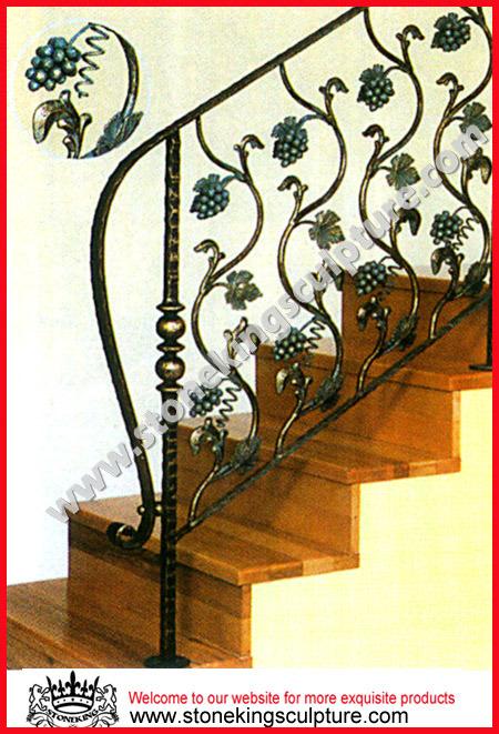 Design Scala disegno : Balaustra del corrimano di disegno della scala del ferro (SK-5258 ...