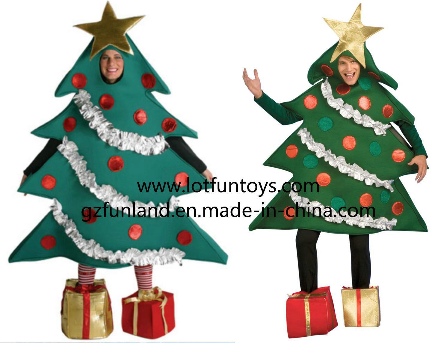 Costume personalizzato della mascotte dell 39 albero di for Albero natale gonfiabile