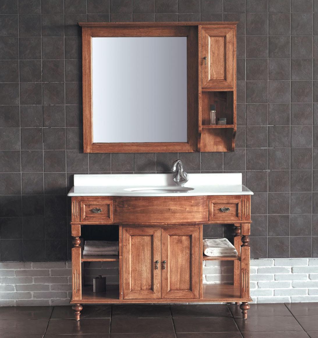 Armario De Madeira Banheiro : Arm?rio de banheiro da madeira cont?nua my
