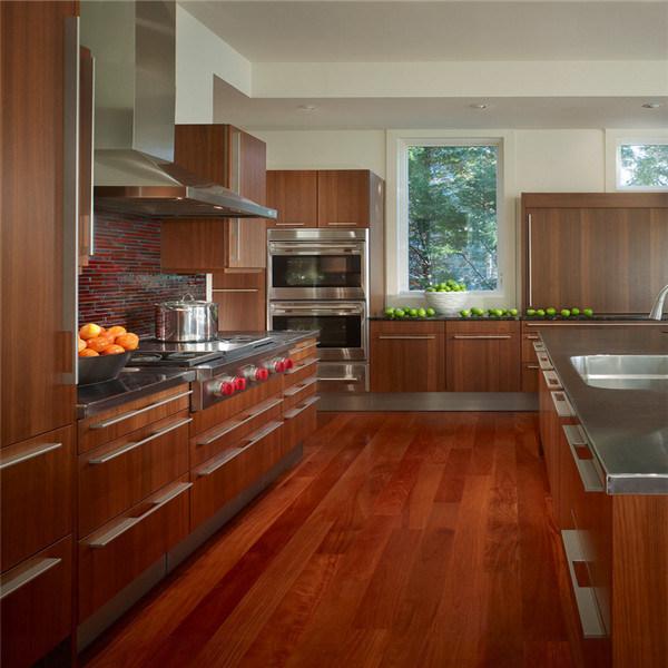 Foto de dise o de madera del gabinete de cocina del pvc for Disenos de gabinetes de cocina en madera