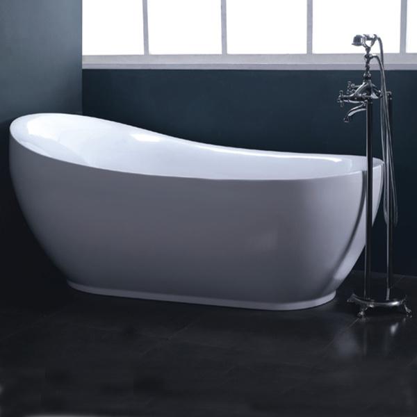 piccola vasca da bagno indipendente di chawfoot ry 541
