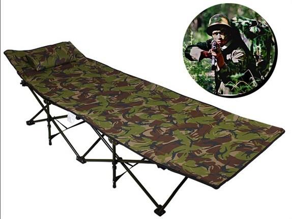 lit de camp simple de camp de lit de camp de camouflage de lit de campig de lit ext rieur. Black Bedroom Furniture Sets. Home Design Ideas