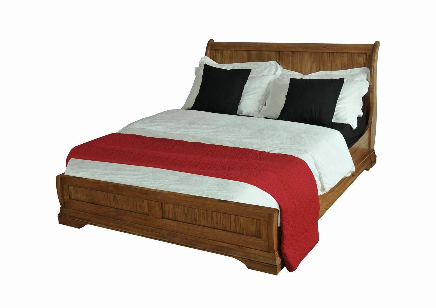 Base de madera del estilo de la cama matrimonial de la for Bases de madera para cama matrimonial