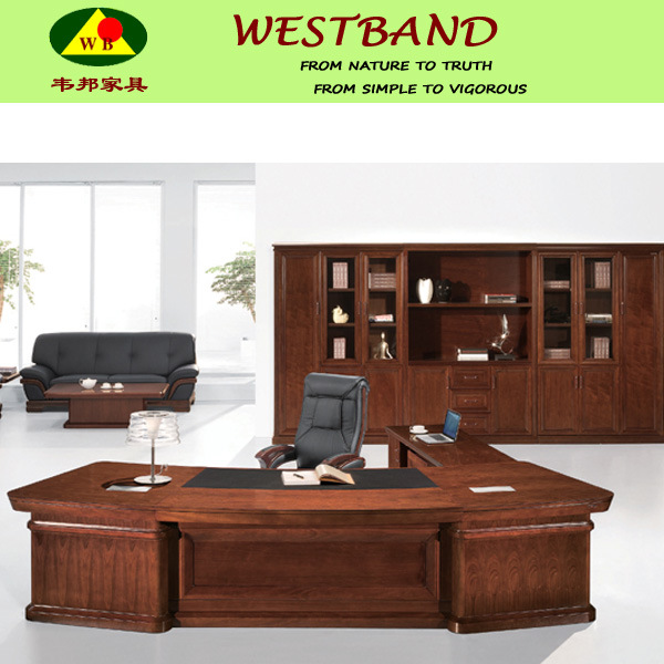 grand bureau moderne de directeur en bois plein tableau de bureau tableau wb od39 d 39 ordinateur. Black Bedroom Furniture Sets. Home Design Ideas