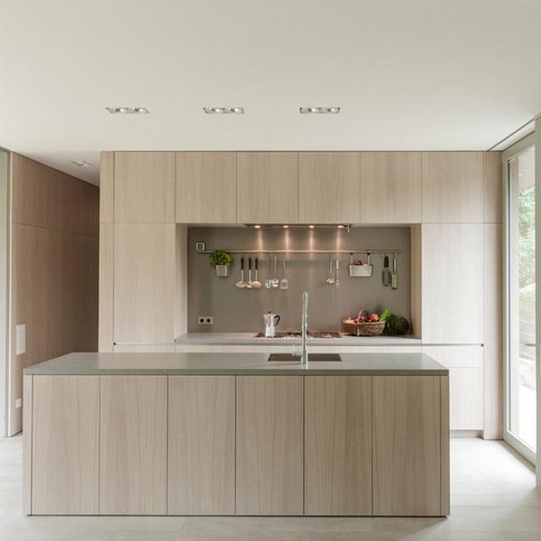 Foto de 2016 gabinetes de cocina modernos del mdf de la for Muebles de cocina modernos precios