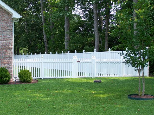 Recinzione del giardino del vinile recinzione del - Recinzioni giardino in pvc ...
