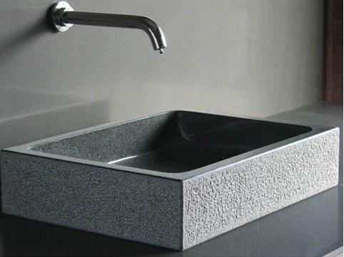 Lavabo de colada del granito g654 lavabo de colada del for Lavabos de marmol y granito