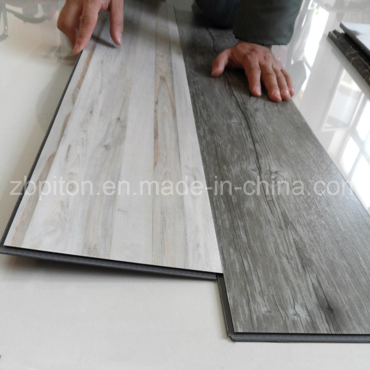 planches de luxe de plancher de pvc de tuile de vinyle de lvt photo sur fr made in. Black Bedroom Furniture Sets. Home Design Ideas