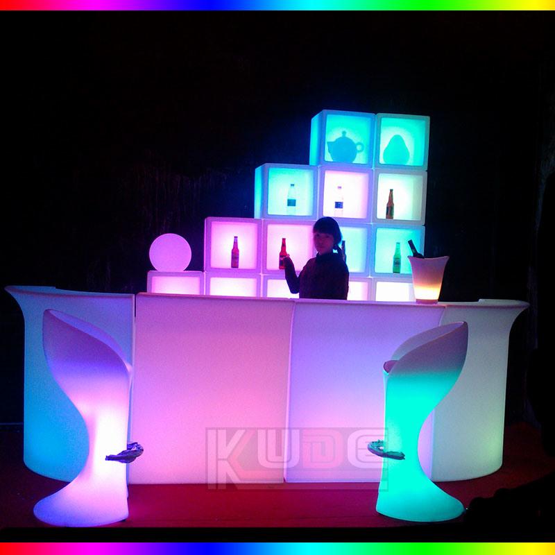 bar discoteca led muebles para decoracin