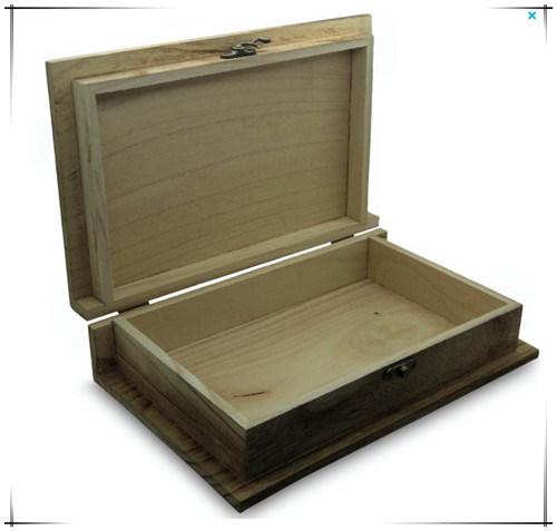 Contenitore di libro di legno di paulownia dell 39 annata for Paulownia legno mobili