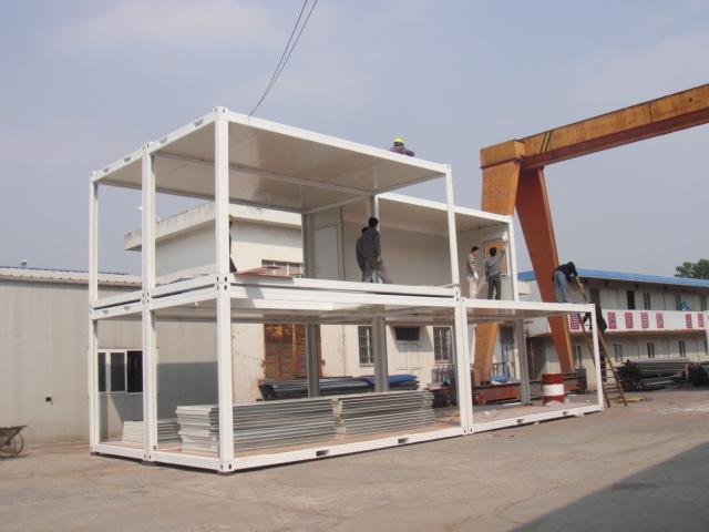 Het huis office accommodation van de zaal van mobile van de container het huis office - Huis in containers ...
