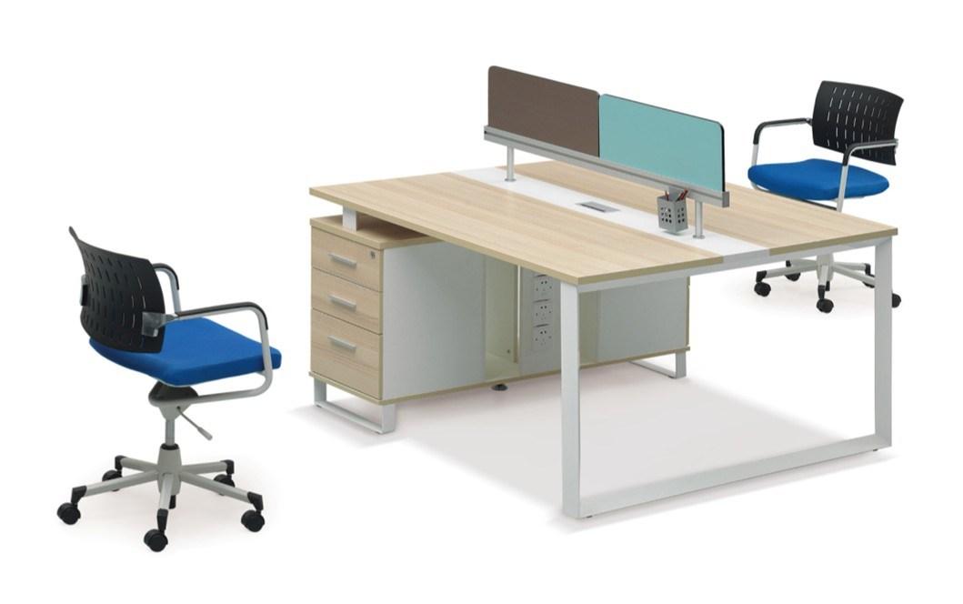 Cloison moderne de bureau de conception de poste de for Bureau marguerite 4 personnes