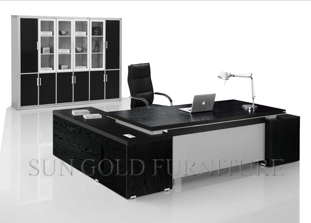 Muebles de madera de la tabla de la oficina del MDF del escritorio del