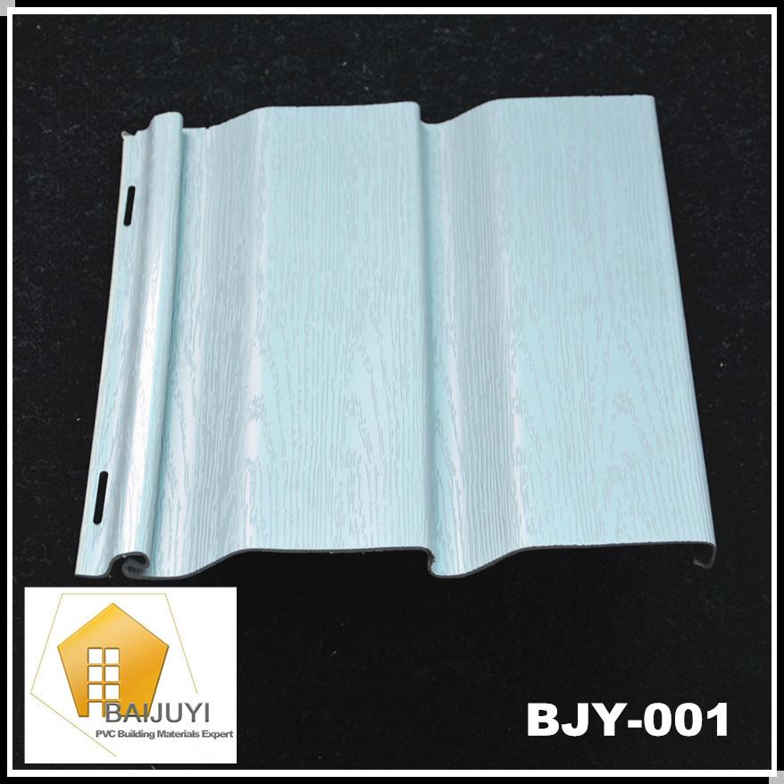 Pvc vinilo revestimiento panel de pared exterior bjy 001 for Vinilo exterior pared