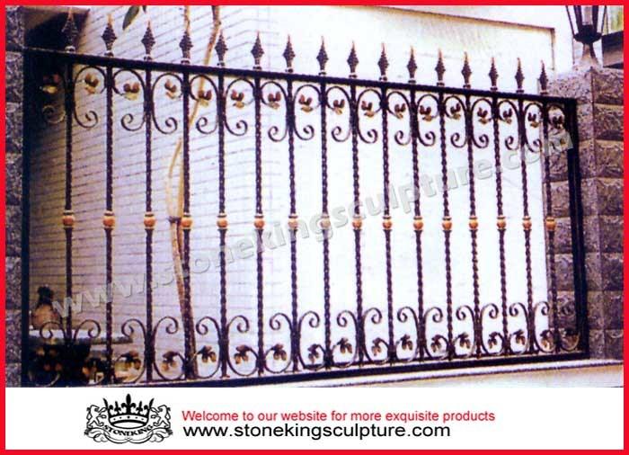 Cerca del hierro labrado cercas del metal cerca del - Cercas de hierro ...