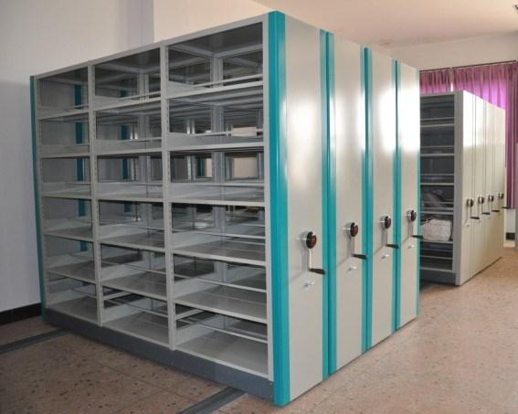 Meuble d 39 archivage mobile de compacteur de bureau igo 033 for Meuble bureau mobile