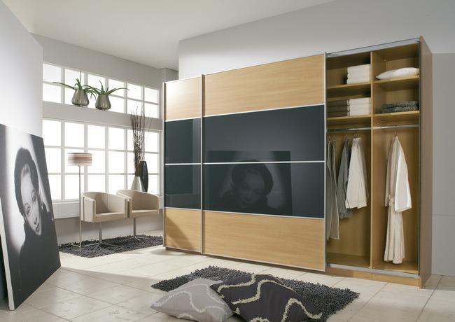 Gabinetes modernos del guardarropa de la ropa gabinetes for Gabinetes modernos
