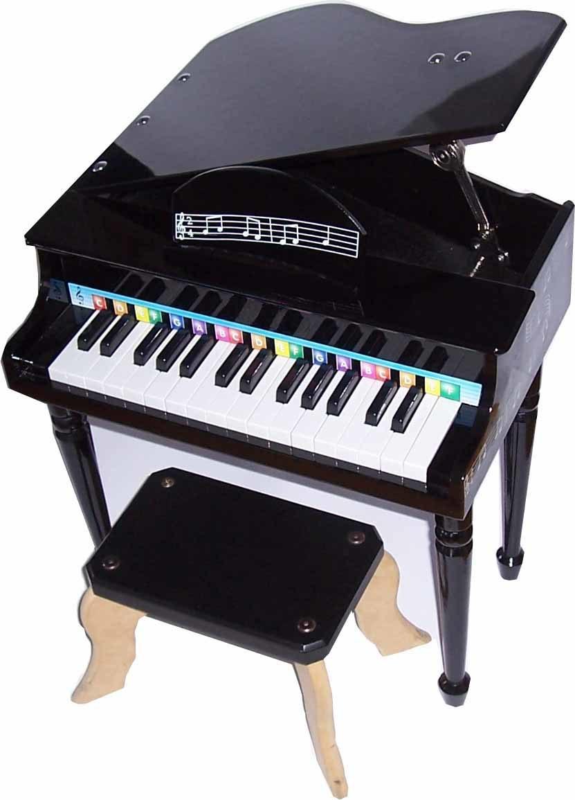 piano queue du jouet 30 key avec la charni re le banc assorti et le stand de musique g30tl. Black Bedroom Furniture Sets. Home Design Ideas