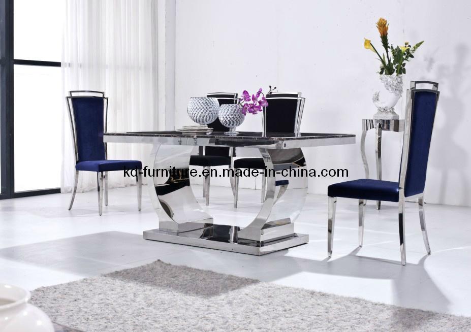 Neoklassiek Meubilair  de Marmeren Eettafel  Lijst van het Meubilair van de Luxe (541E