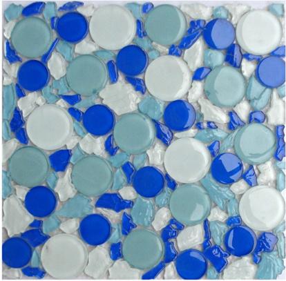 Mattonelle di mosaico di vetro serie di concetto x42 - Piastrelle tipo mosaico ...