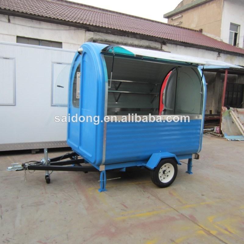 Передвижной фургон для фаст фуда
