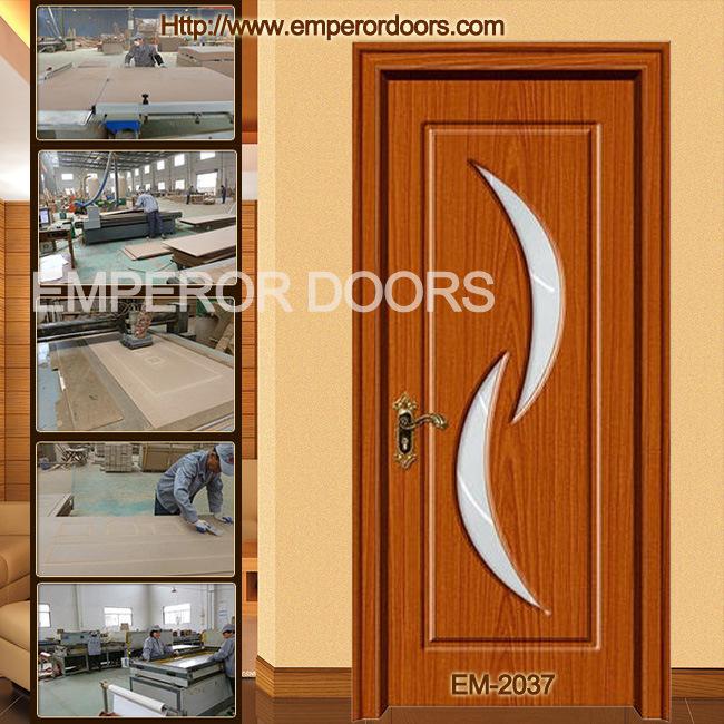 interior de pvc puerta puerta de madera de vidrio mdf puerta de vidrio with puertas madera y vidrio