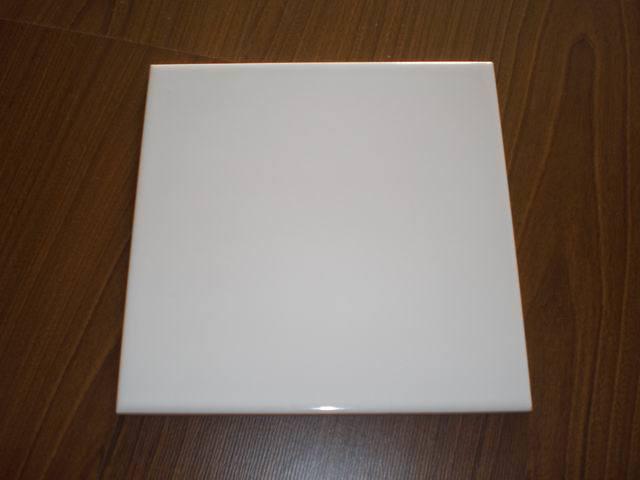 Mattonelle di ceramica lucide delle mattonelle bianche - Piastrelle bianche lucide ...