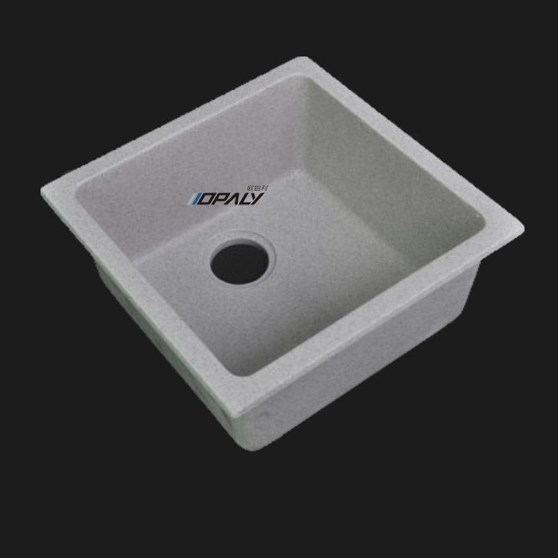 Fregadero de cocina de piedra artificial fregadero de - Limpiar piedra artificial ...