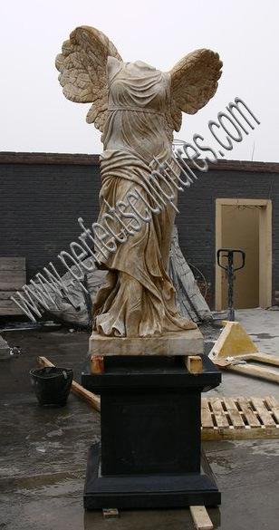tallada escultura de mrmol antigua esculpido estatua de piedra para decoracin de jardn sy