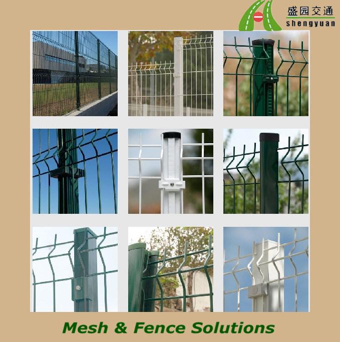 cerca para jardim alta : cerca para jardim alta:Cerca revestida do jardim do PVC do painel da cerca do engranzamento