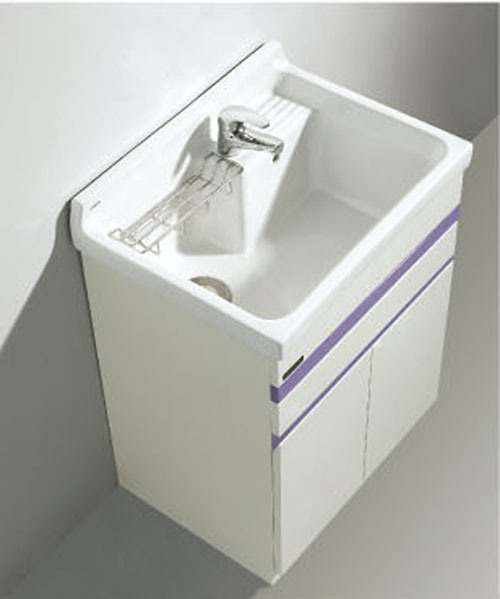 cabinet de lavage de salle de bains avec le grand vier cabinet de lavage de salle de bains. Black Bedroom Furniture Sets. Home Design Ideas