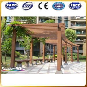 Giardino wpc esterno pavillion di reistant del tempo for 3 costo del garage per metro quadrato