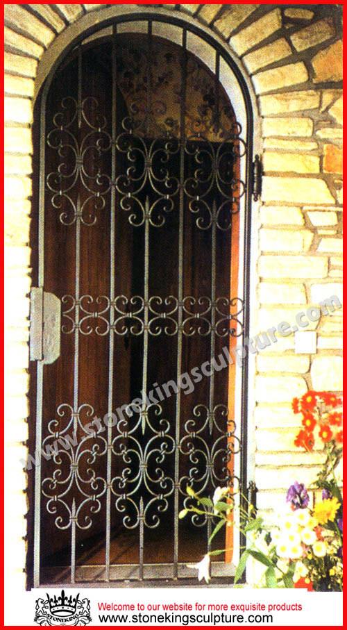 Puertas del metal de las puertas del hierro labrado - Puertas de metal ...