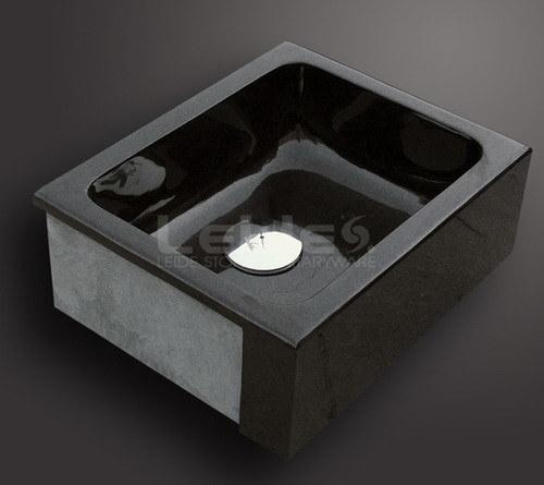 Fregadero de cocina negro absoluto del granito ld k007 - Fregadero de granito ...