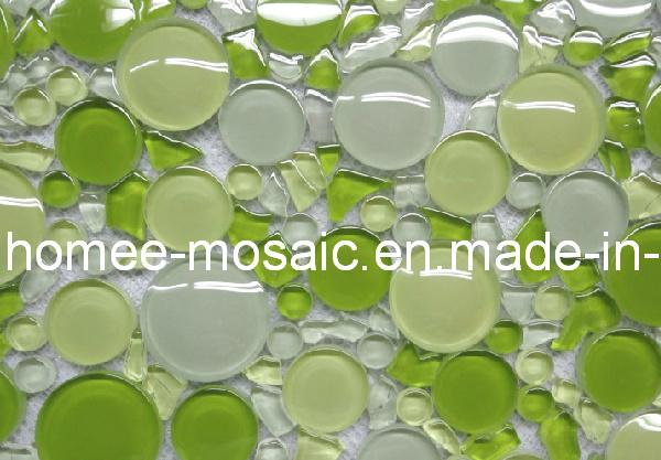 Azulejos Baño Vidrio:Azulejos Verdes de Vidrio Mosaico para Piscina – Azulejos Verdes de