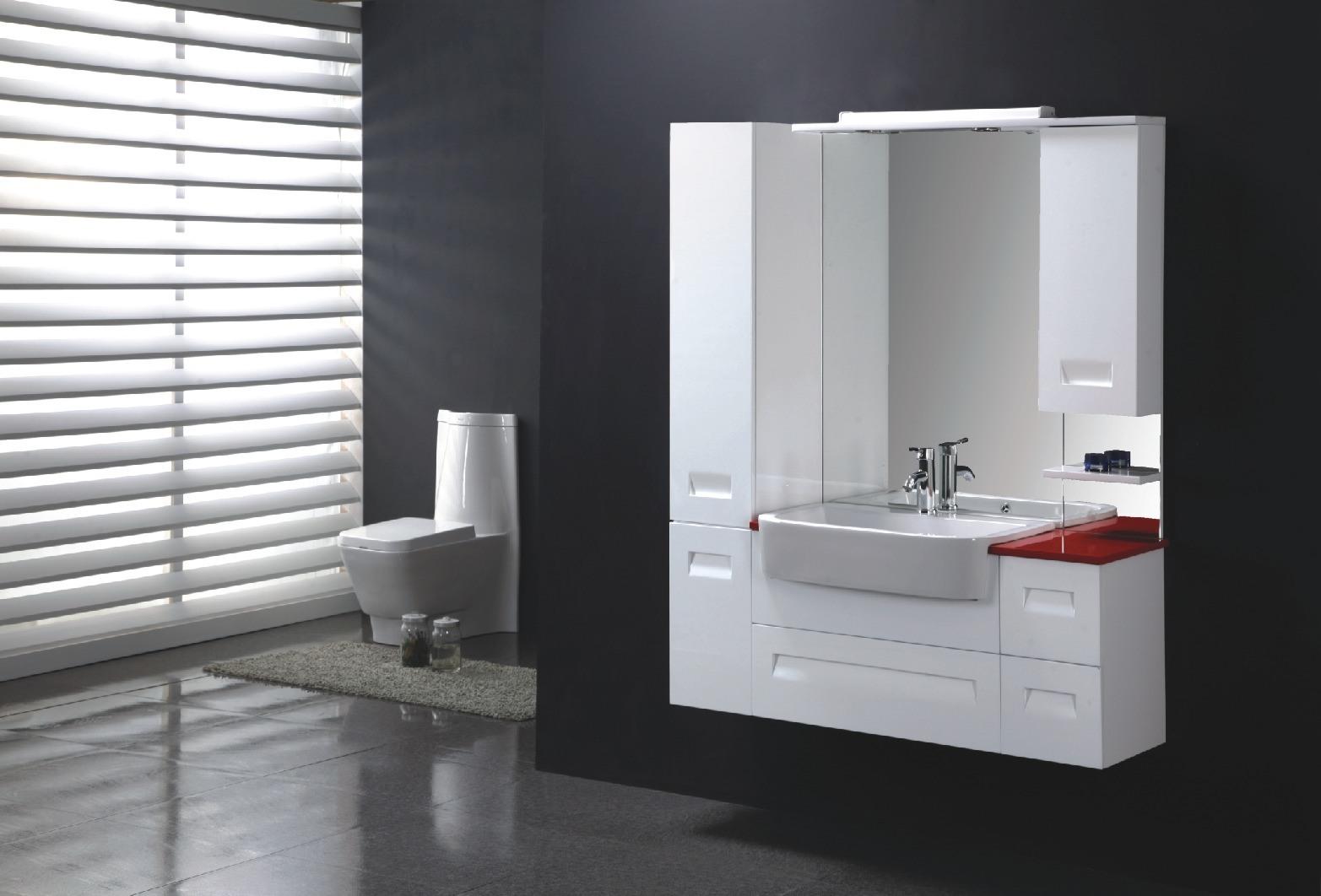 Armário de banheiro do MDF (FM M001) –Armário de banheiro do MDF  #702E2C 1565 1062