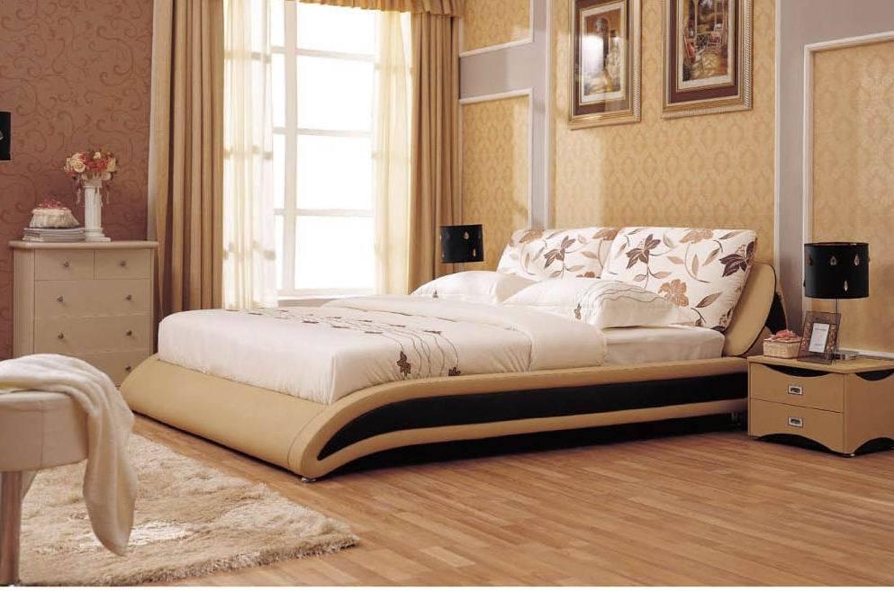Meubles de chambre coucher lit de tissu b692 meubles for Commande chambre a coucher