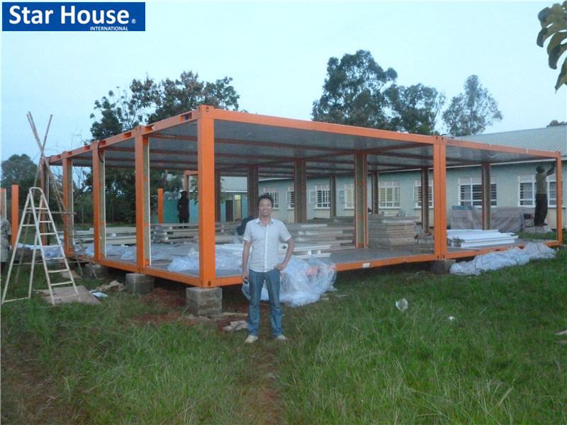 Foto de casa prefab barata da constru o de a o em pt made for Casa barata